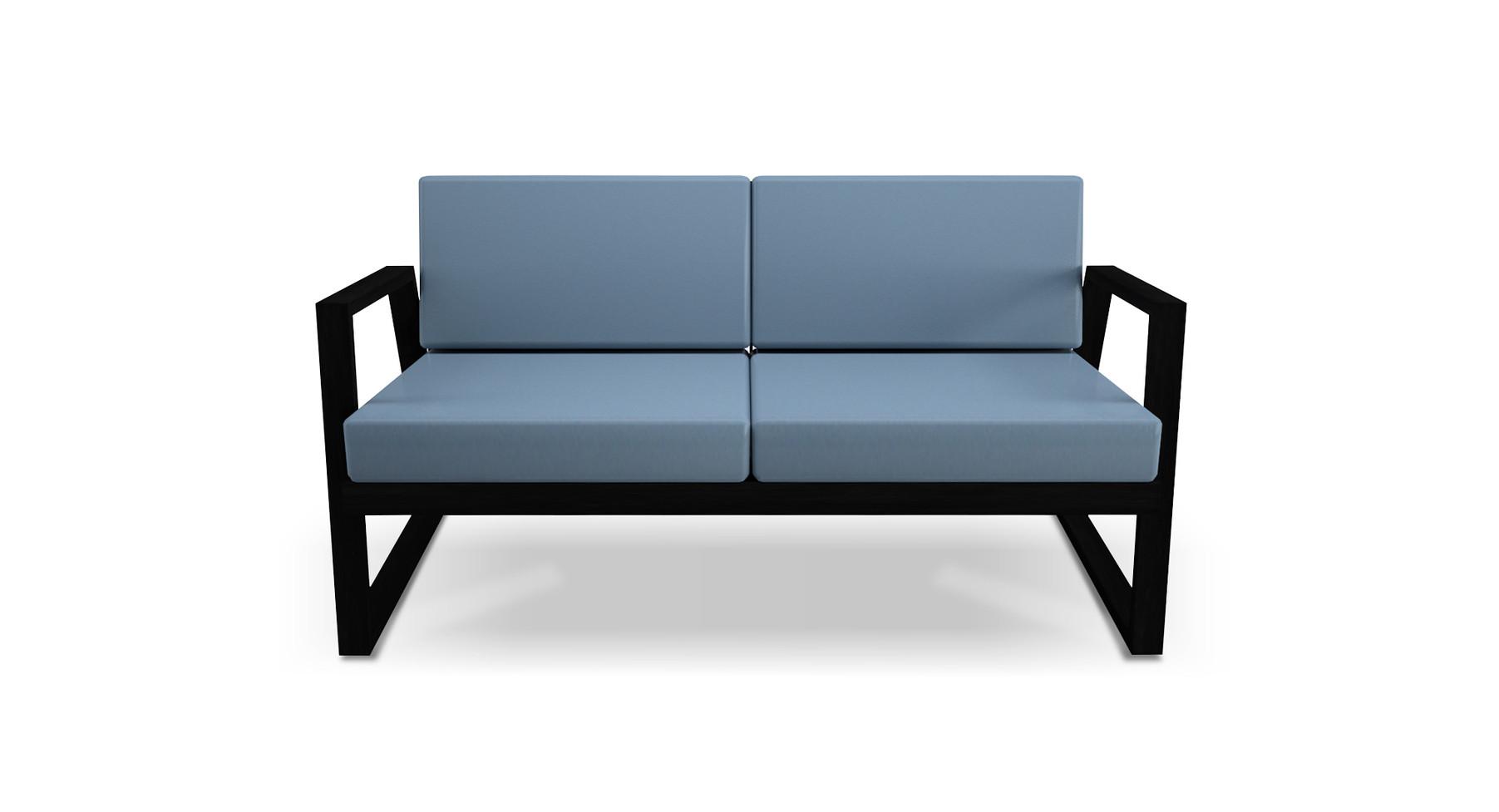 Dodeka- fugue love seat