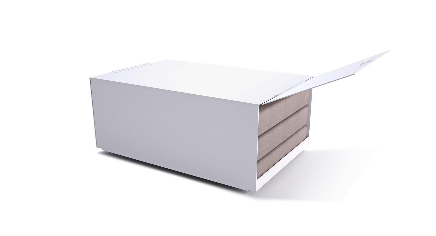 Dodeka- lemma coffee table cushion stora