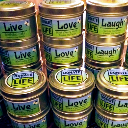 Donate Life Candles