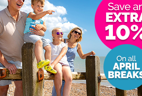 Park Holidays April Holiday Flash Sale! This weekend only 19th-22nd March