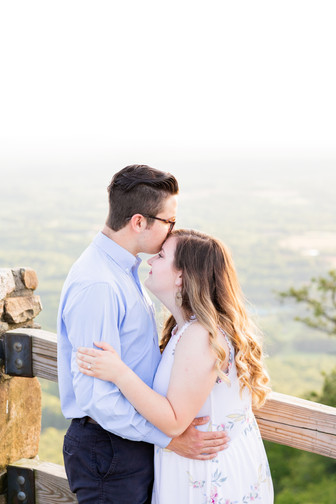 Engagement on Pilot Mountain