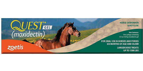 Quest Equine Gel Horse Wormer