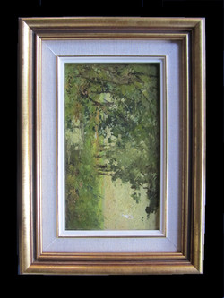 Antique oil painting frame