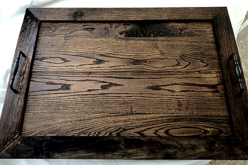 Hand crafted Dark stain Noodle Board