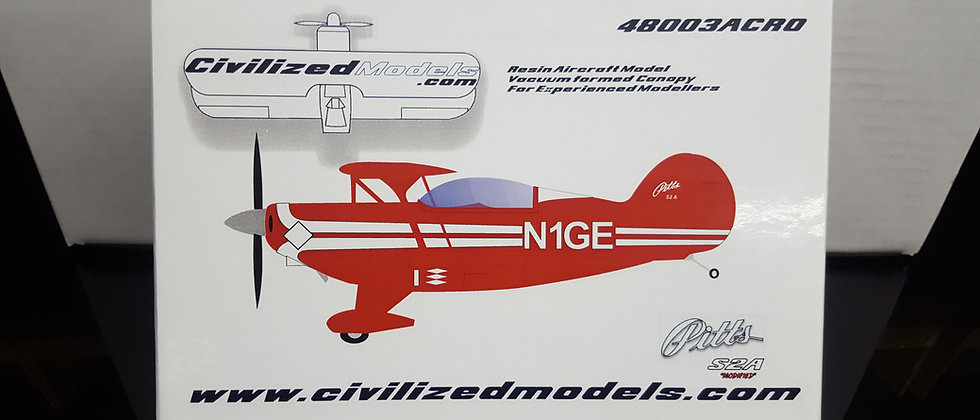 1/48 Pitts S2A (Modified 2 place Canopy)
