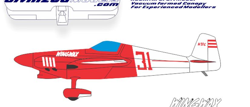 "1/72 F-1 Racer ""Wingwax"""