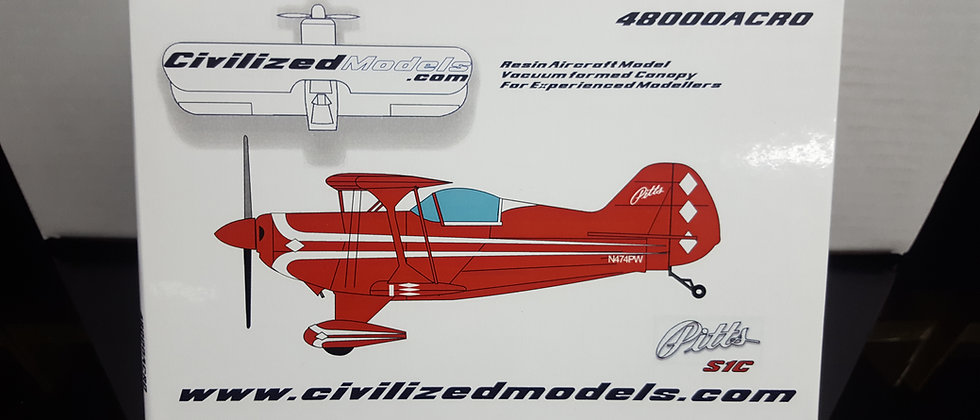 1/48 Pitts  S1C  Stock Scheme