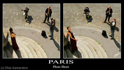 Tournage de mode à Paris