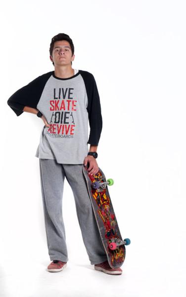 Live, skate, die