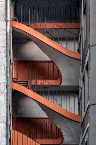 Lyon stairwell