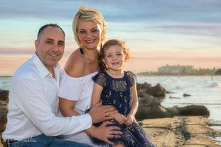 Famille à la plage 2