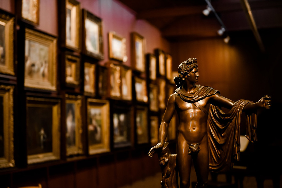 Main Gallery Statue