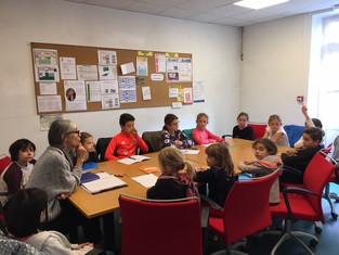 Le conseil des enfants s'est tenu le 7 octobre 2019.