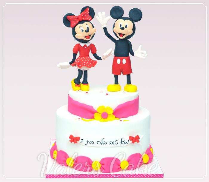 עוגת-מיקי-ומיני