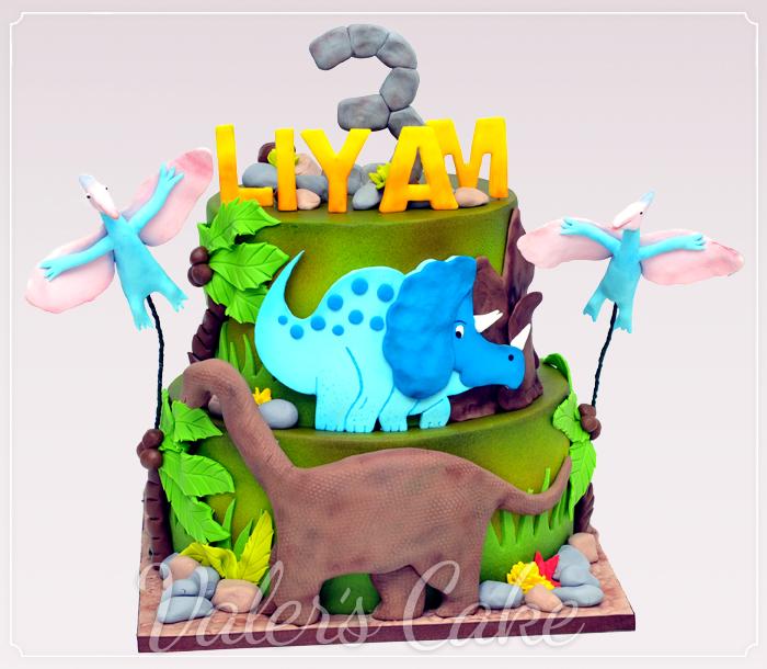 עוגת-דינוזאורים