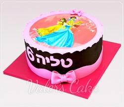 עוגת נסיכות-דיסני