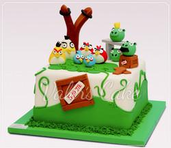 עוגת אנגרי-בירדס