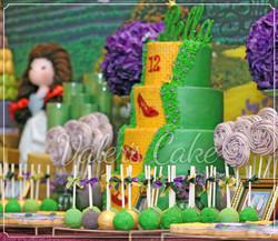 עוגת ארבע קומות  לבת מצווה