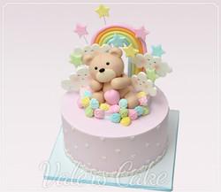 עוגת-דובי-וקשת-בענן
