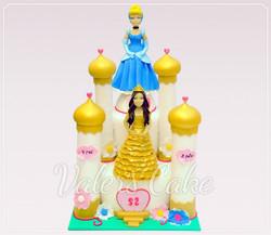 עוגת ארמון-ונסיכות