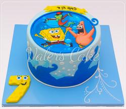 עוגת בובספוג-8