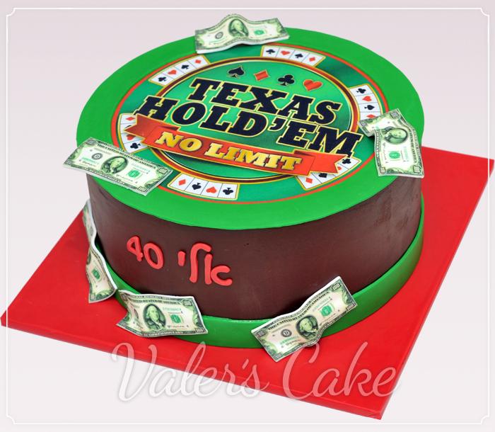 עוגת יום הולדת למבוגרים פוקר