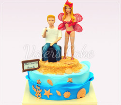 עוגת-דוגמנית-וסיגר