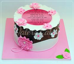 עוגת פרחים-4
