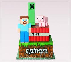 עוגת-מיינקראפט