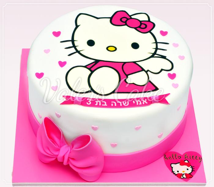 24-עוגת הלו קיטי Hello Kitty