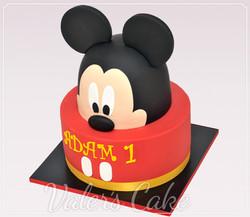 עוגת-מיקי-מאוס