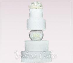 עוגת-חתונה-עם-אקווריום