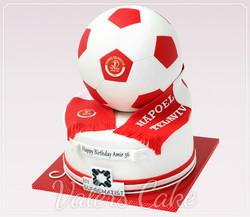עוגת כדורגל-הפועל-תל-אביב