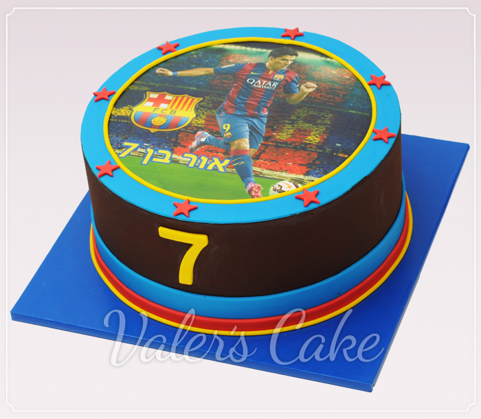 עוגת-שחקן-ברצלונה