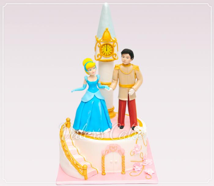 עוגת ארמון וסינדרלה
