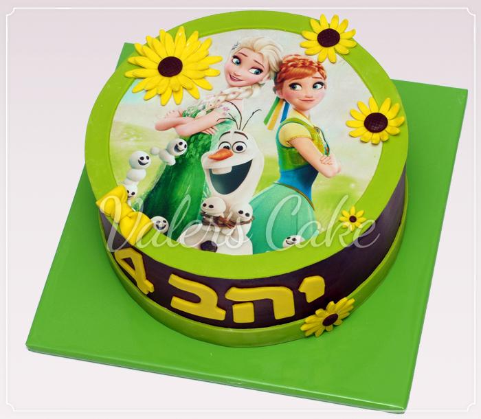 Fever עוגת-אלזה-ואנה-