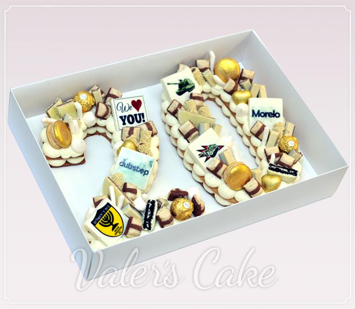 עוגת-מספרים-עם-שוקולדים