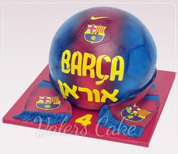 עוגת-כדור-ברצלונה