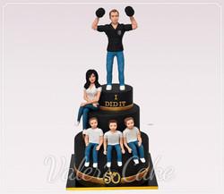 עוגה-לאיש-משפחה-ספורטיבי