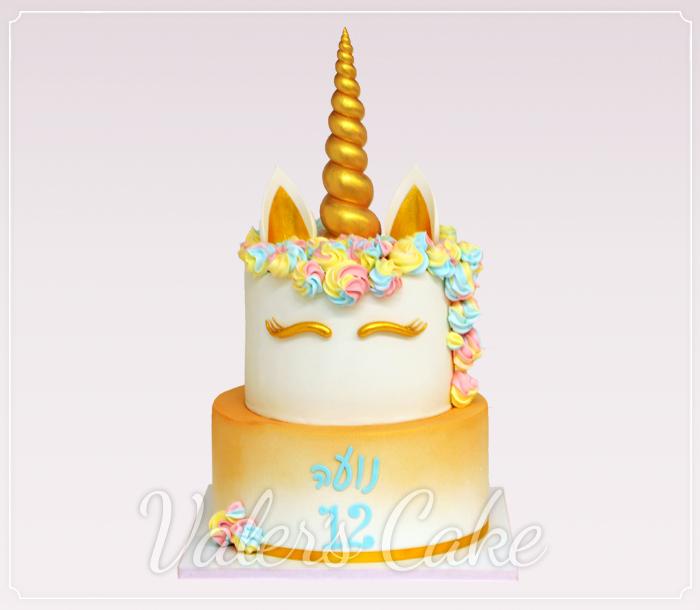 עוגת-חד-קרן-שתי-קומות
