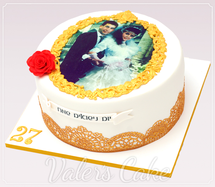 עוגת תמונה מזהב