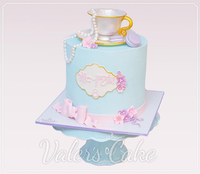 עוגת-ספל-תה-ופרחים