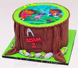 עוגת-דייגו-ודורה