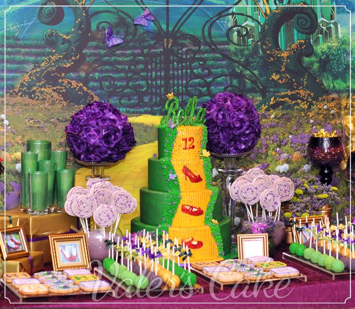 שולחן מעוצב הקוסם מארץ עוץ