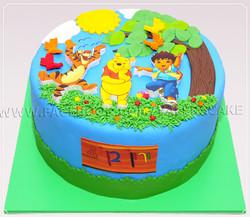 עוגת פו הדב וחברים-1