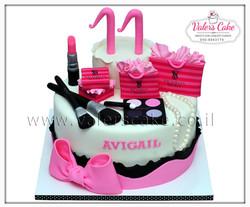 עוגת יום הולדת 16  ויקטוריה סיקרט