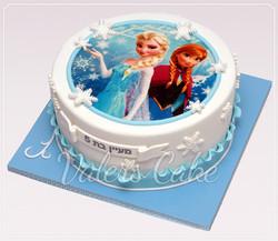 עוגת-אנה-ואלזה-מודפסת