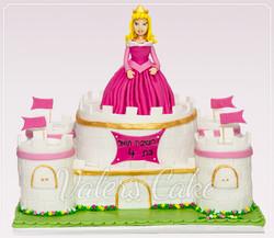 עוגת טירה ונסיכה