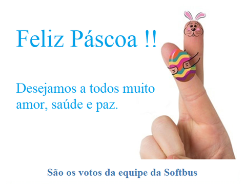 A Softbus deseja uma FELIZ PÁSCOA !!!