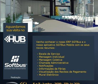 Softbus na 21ª edição da Transposul em Bento Gonçalves - RS